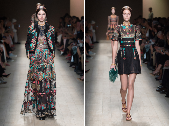 Pixelformula Valentino Womenswear  Summer 2014 Ready To Wear  Paris