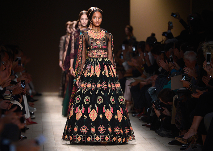 Valentino: Runway - Paris Fashion Week Womenswear Spring/Summer 2014