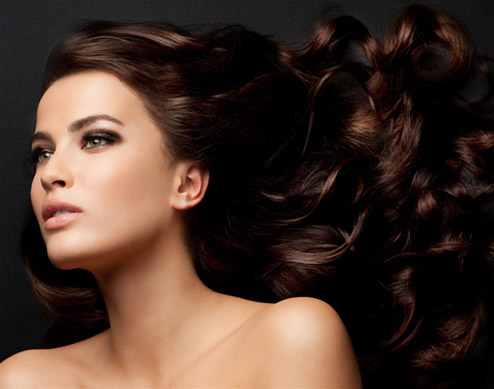 Модели для причёсок