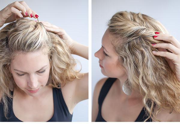 Как убрать волосы назад красиво