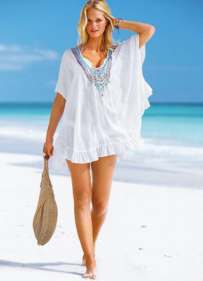 Пляжная одежда туники 29