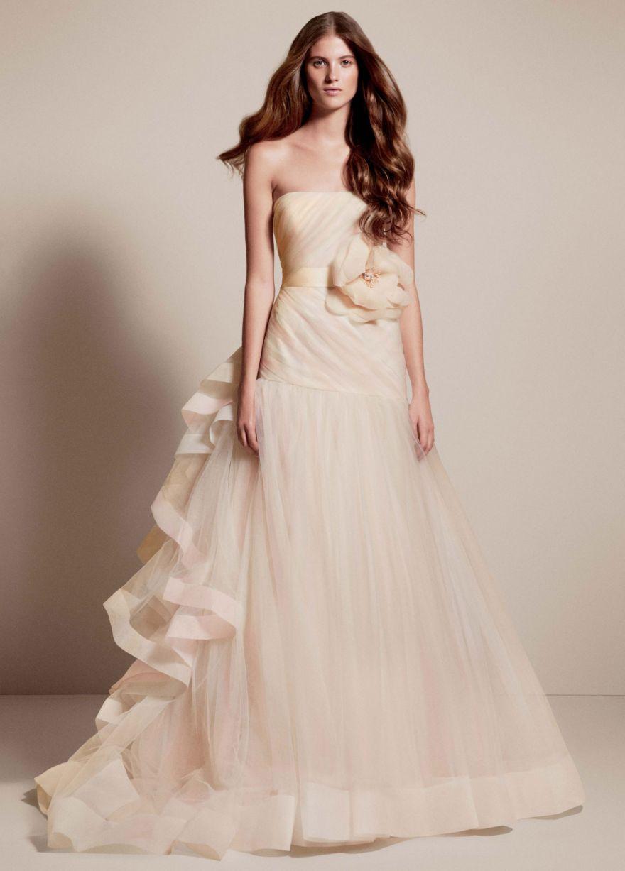 Свадебные платья цвет шампань фото