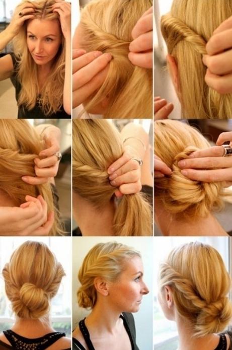 Сделать прямые блестящие волосы