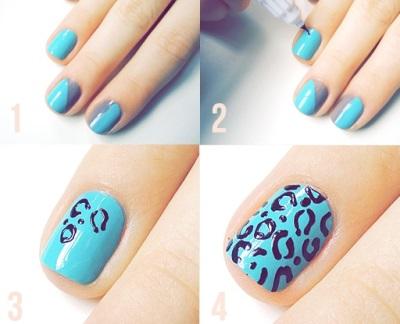 Покраска ногтей гель лаком в домашних условиях, фото и 49