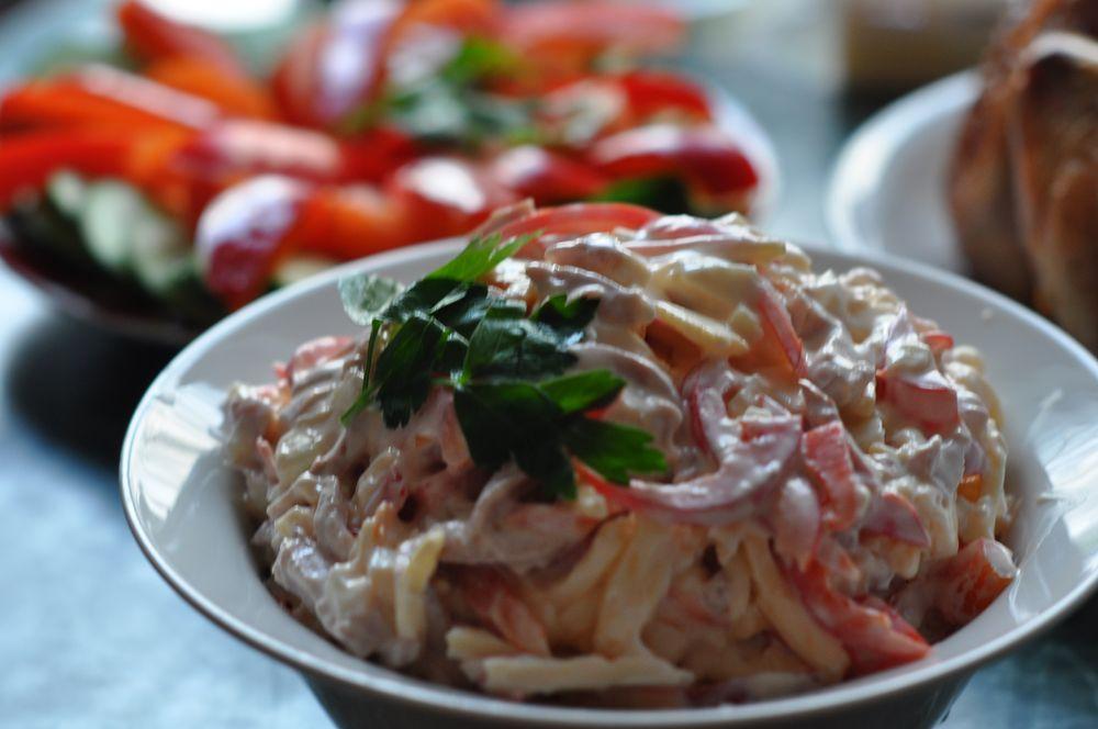 салат ветчина сыр болгарский перец