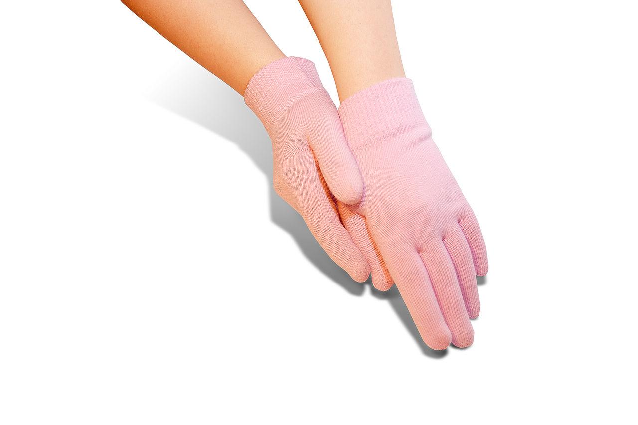 Тонкие перчатки для маникюра