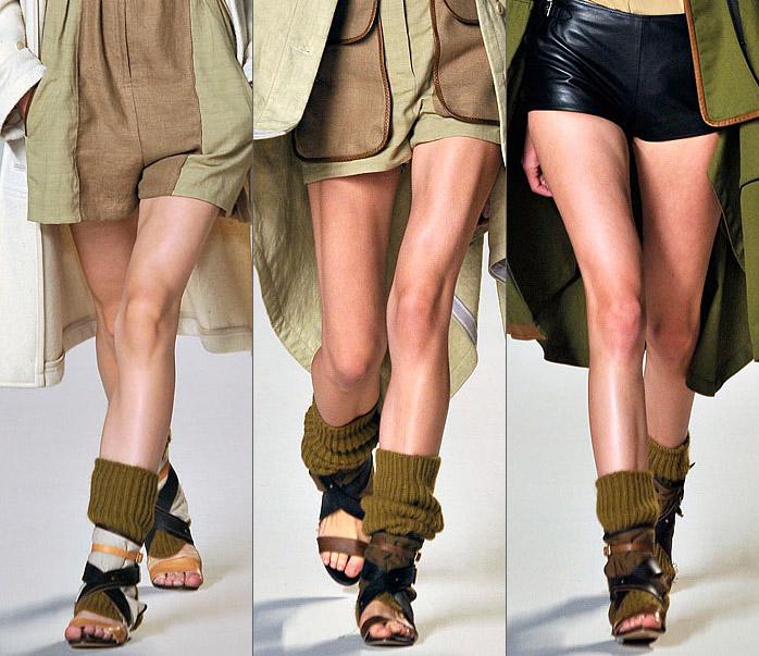 Зараз в моді в  39 язані гетри різноманітнихзабарвлень - стриманим дівчатам  можна порадити носити однотонні гетри 9407a59fb6af6