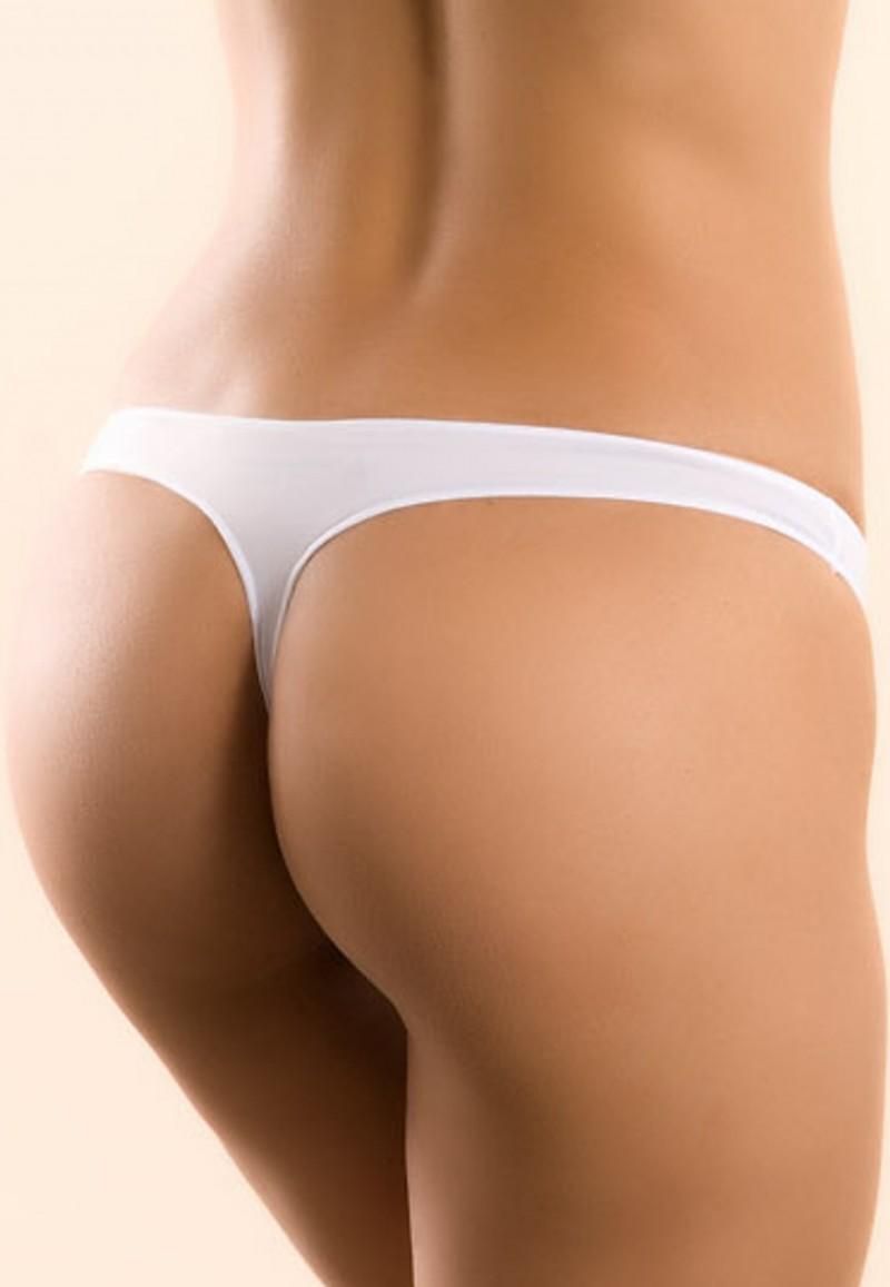 Красивые женские белые трусики фото 291-962