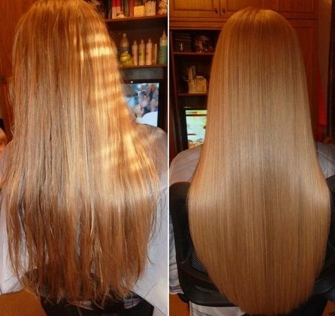 Haare laminieren zu hause