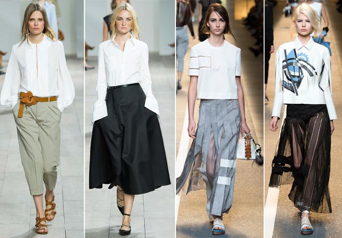 Модные Блузки Весна Лето