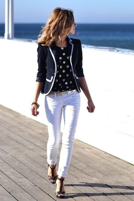 Z čeho se nosit bílé kalhoty ženy   8ccb68e1d2