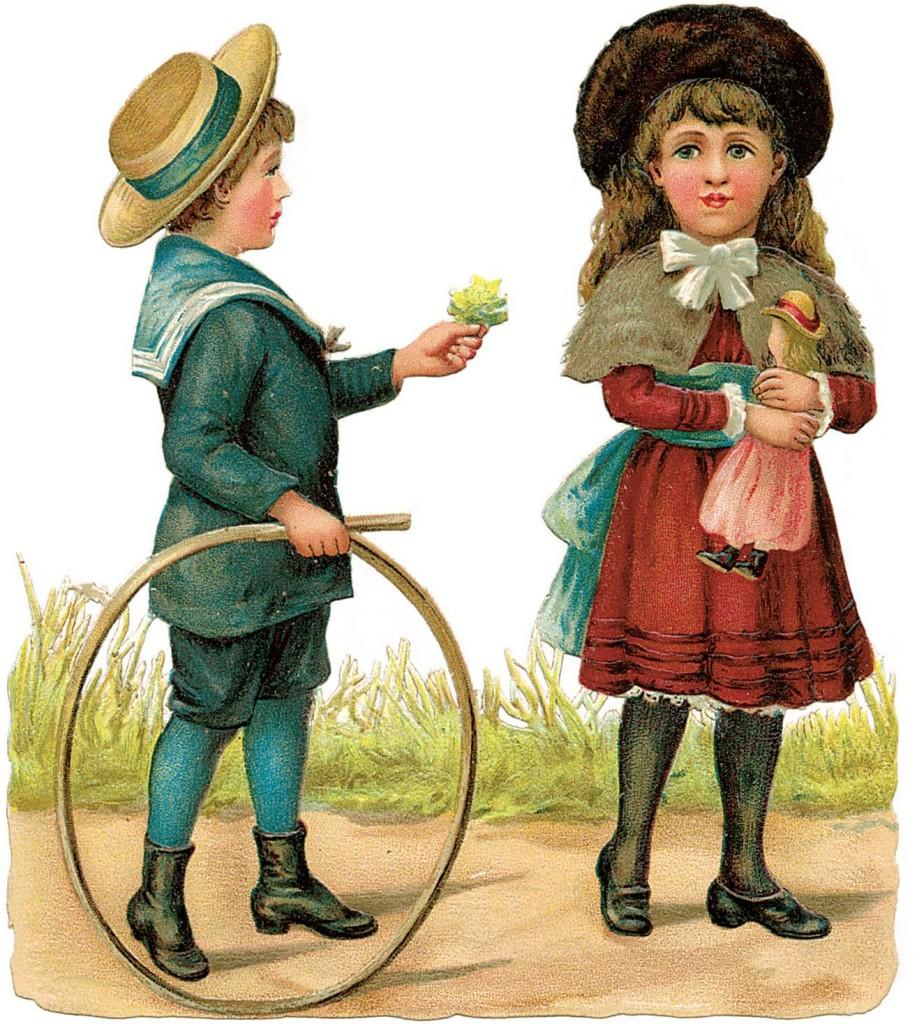 c74ec30c63c055 У цей період дитячий одяг починає ділитися по колірній гамі: дівчатка  ходять в рожевому, а у хлопчиків переважають у шатах блакитні тони.