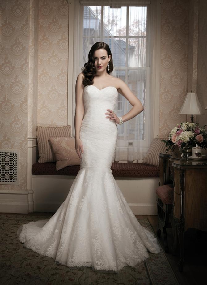 Свадебное платье силуэт русалка фото