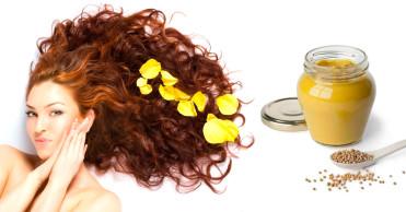 Гірчиця в складі масок для росту волоссязастосовується вже дуже давно. Це народний  засіб викликає сильне печіння на шкірі голови ae7d05eae12a2