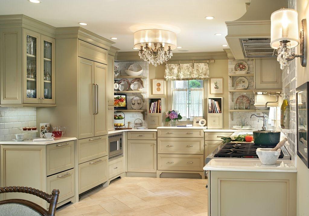 Светильники в интерьере кухни фото