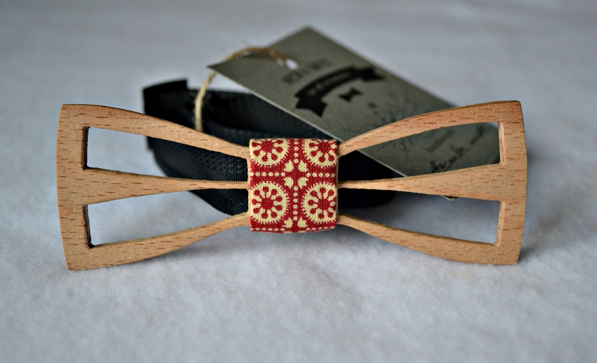 Галстук бабочка деревянная своими руками