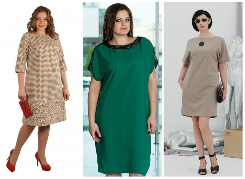 Фасоны платьев для полных для шитья