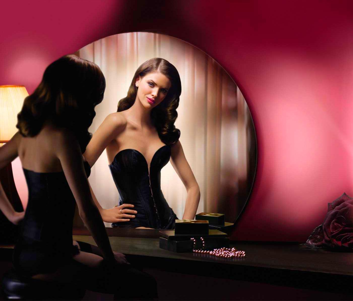 Наш секс через зеркало