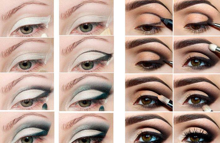 макияж в домашних условиях фото пошагово