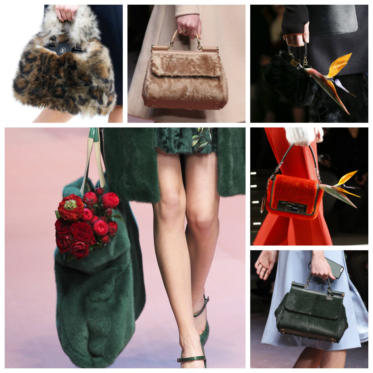 Модные сумки осень — зима 2016 — 2017, фото